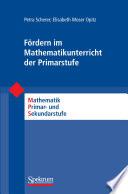 F  rdern im Mathematikunterricht der Primarstufe