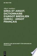 Dictionnaire D'argot Moderne par Albert Audubert