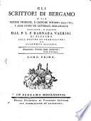 Gli Scrittori di Bergamo