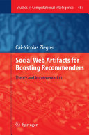 Social Web Artifacts for Boosting Recommenders