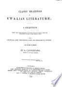 Classic Readings In Italian Literature