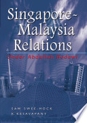 Singapore-Malaysia Relations Under Abdullah Badawi Programme Documents The Series Of Important Events