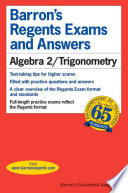 Algebra 2 Trigonometry