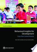 Behavioral Insights for Development