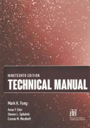 Technical Manual: Includes Flash Drive