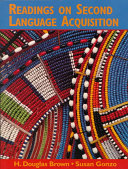 Readings On Second Language Acquisition : and teaching 3/e and consists of...