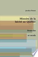 Histoire de la laïcité au Québec