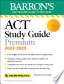Book ACT Premium Study Guide