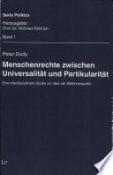 Menschenrechte zwischen Universalität und Partikularität