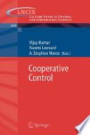 Cooperative Control book