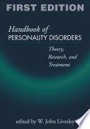 Handbook of Personality Disorders