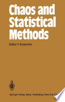 Chaos and Statistical Methods