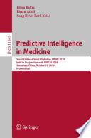 Predictive Intelligence in Medicine Book PDF