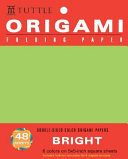 Origami Hanging Paper   Bright   5    48 Sheets