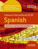 Edexcel International GCSE and Certificate Spanish