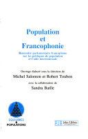 Population Et Francophonie