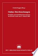 Online-Durchsuchungen