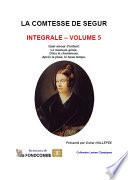 Comtesse de Ségur – Œuvres complètes – Volume 5