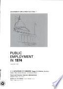 Public Employment in