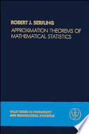 Approximation Theorems Of Mathematical Statistics book