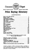 Consumers Digest Guide to Discount Buying