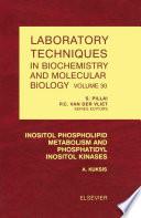 Inositol Phospholipid Metabolism And Phosphatidyl Inositol Kinases book