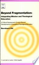 Beyond Fragmentation