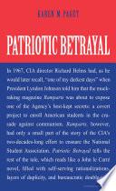 Patriotic Betrayal