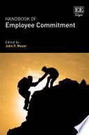 Handbook of Employee Commitment