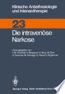Die intravenüse Narkose