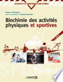 Biochimie des activit  s physiques et sportives