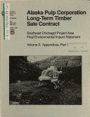 download ebook tongass national forest (n.f.), southeast chichagof timber harvest project, alaska pulp corporation long-term timber sale contract pdf epub