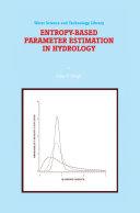 download ebook entropy-based parameter estimation in hydrology pdf epub