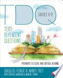 Text Dependent Questions  Grades 6 12