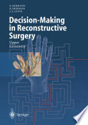 Decision Making In Reconstructive Surgery