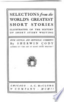 Selections from the World s Greatest Short Stories