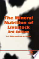 The Mineral Nutrition of Livestock
