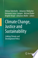 Climate Change Justice And Sustainability