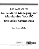 Lab Manual For A+ Guide to Managing and Maintaining Your PC