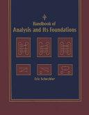 Handbook of Analysis and Its Foundations