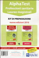 Alpha Test  Professioni sanitarie  Lauree magistrali  Kit di preparazione  Con software di simulazione