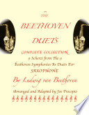 The Beethoven Duets For Saxophone Complete Collection  All 9 Scherzi