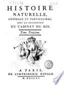 Histoire naturelle g  n  rale et particuli  re   Th  orie de la terre   histoire naturelle de l homme   animaux quadrup  des  Par Buffon et Daubenton