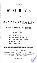 The Works of Shakespeare