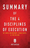 Summary of The 4 Disciplines of Execution