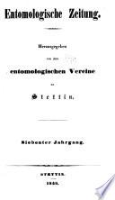 Stettiner entomologische Zeitung