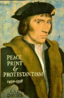Peace  Print and Protestantism  1450 1558