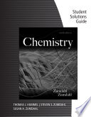 Student Solutions Guide for Zumdahl Zumdahl s Chemistry  9th