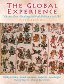 The Global Experience  Readings in world history to 1500