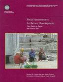 Social Assessments for Better Development